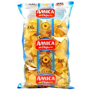 Patatine Amica Chips gr. 400 x 6 pz