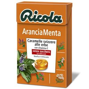 Ricola Arancia-Menta x 20 pz