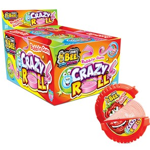 Bubble Gum/Crazy Roll gr. 18 x 24 pz