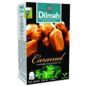 Tea Dilmah al Caramello x 20 Filtri