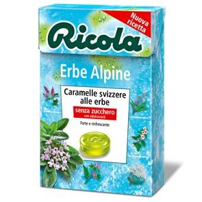 Ricola Erbe Alpine x 20 pz