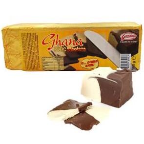 Ghana Lingotto Cioccolato gr. 500 Cioccolata a Taglio x 8 pz