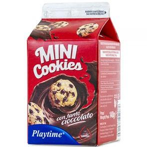 Mini Cooki Con Gocce di Cioccolato gr. 140 x 12 pz