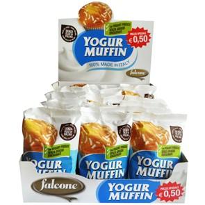 Muffin Yogurt Falcone gr. 50 x 18 pz