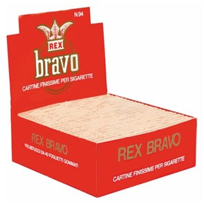 Cartina Rex Bravo x 100 pz