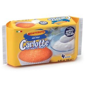 Carlotte Tortine Yogurt gr. 140 x 12 pz