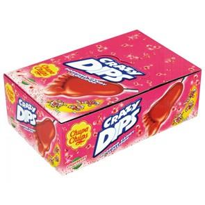 Chupa Chups Crazy Dips x 24 pz