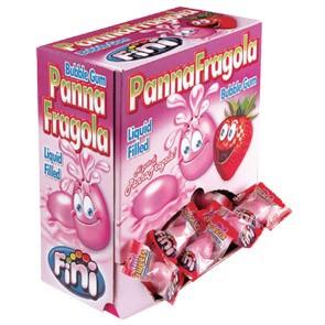 Fini Gum Panna e Fragola x 200 pz