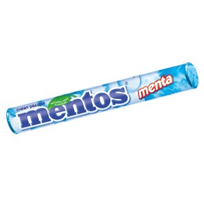 Mentos Menta Stick x 40 pz