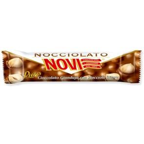 Barrette Novi gianduja con nocciole gr. 30 x 30 pz