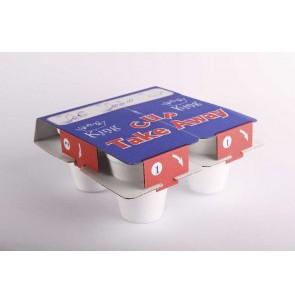 Portacappuccino in cartone x 20 pz